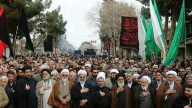 تصویر از اجتماع بزرگ فاطمیون در شهرستان سبزوار برگزار شد