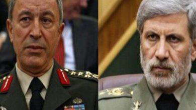 تصویر از وزاری دفاع ایران و ترکیه بر لزوم تداوم همکاریهای دو جانبه و منطقهای تاکید کردند