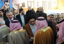 تصویر از مراسم گرامیداشت شهادت سپهبد سلیمانی از سوی علمای دروزی سوریه + تصاویر