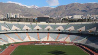 تصویر از ورزشگاه آزادی آماده برگزاری دربیت ۹۱