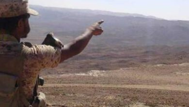 تصویر از ارتش یمن بر دو منطقه استراتژیک در استان «البیضاء» مسلط شد