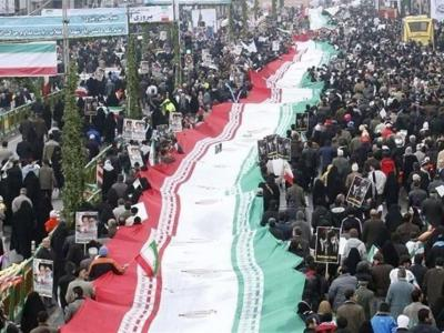 تصویر از مسیر راهپیمایی ۲۲ بهمن قشم اعلام شد